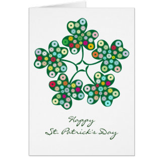 St. Patrick's Day Gifts : The Shamrock. Card
