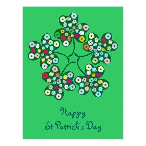 St. Patrick's Day Gifts : The Shamrock. Postcard