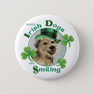 St. Patrick's Day Glen of Imaal Terrier Button