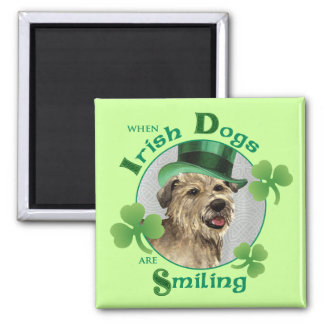 St. Patrick's Day Glen of Imaal Terrier Magnet