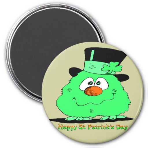 St Patrick's Day Gnome Magnet