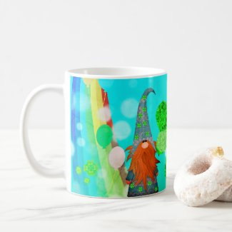 St Patrick's Day Gnome Mug