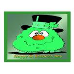 St Patrick's Day Gnome Postcards