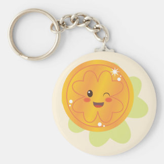 St. Patrick's Day Gold Coin Keychain