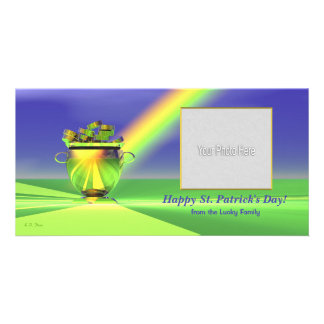 St. Patrick's Day Gold Pot of Gold Card
