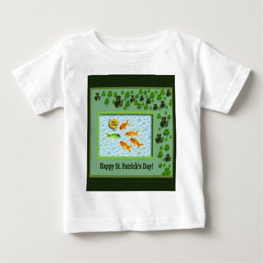 St. Patrick's Day, Goldfish Humor Baby T-Shirt