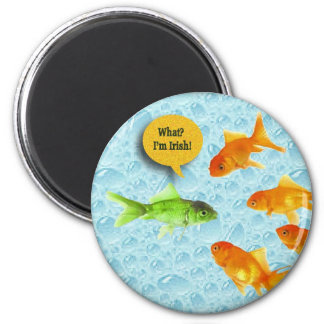 St. Patrick's Day, Goldfish Humor Magnet