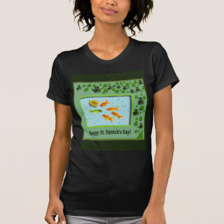 St. Patrick's Day, Goldfish Humor T-Shirt
