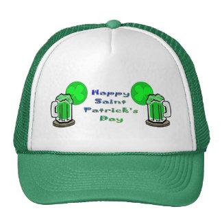 St Patrick's Day Green Beer 2 Trucker Hats