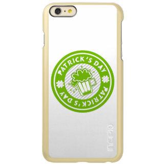 St. Patricks Day Green Beer Design Incipio Feather® Shine iPhone 6 Plus Case