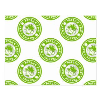 St. Patricks Day Green Beer Design Post Cards
