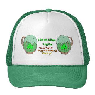 St Patrick's Day Green Beer Trucker Hat