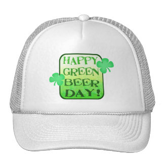 St. Patrick's Day Green Beer Hat