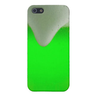 St. Patrick's Day Green Beer iPhone SE/5/5s Cover
