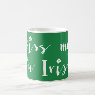St. Patricks Day Green Classic Mug Kiss Me