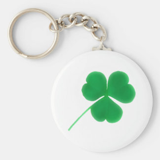 St. Patrick's Day Green Clover Keychain