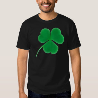 St. Patrick's Day Green Clover T-Shirt