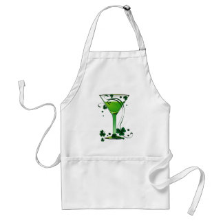 St Patricks Day Green Cocktail Apron