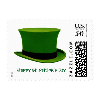 St. Patrick's Day Green Hat Stamp
