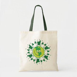 St. Patrick's Day Green Leprechauns with Beer Tote Bag
