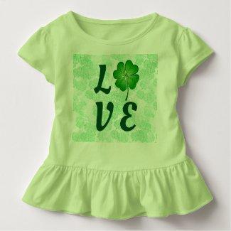 St Patrick's Day Green Love Shamrock