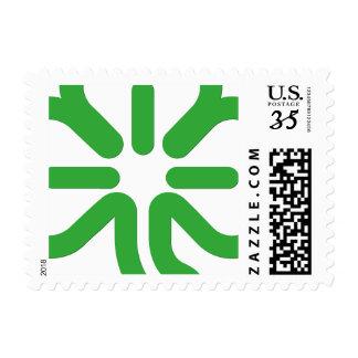 St Patricks Day Green Shamrock Irish 3 Leaf Clover Postage