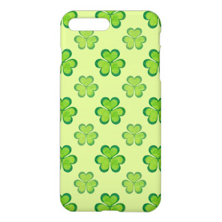 St. Patrick's Day Green Shamrocks Lucky Clovers iPhone 7 Plus Case