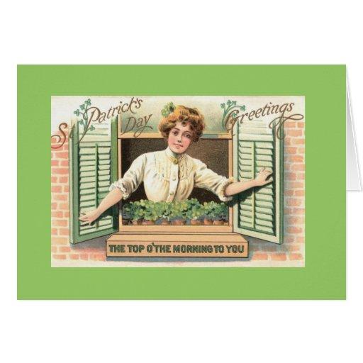 St. Patricks Day Greeting Card