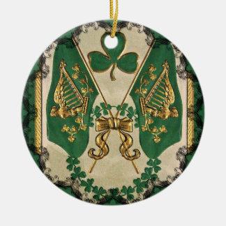 St. Patricks Day Greeting Ornament