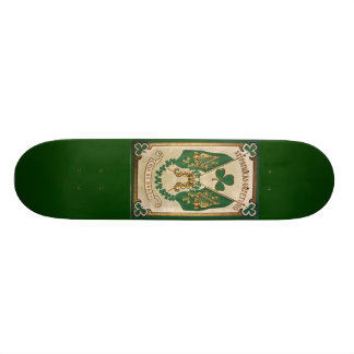St. Patricks Day Greeting Skate Board