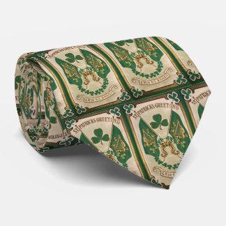 St. Patricks Day Greeting Tie