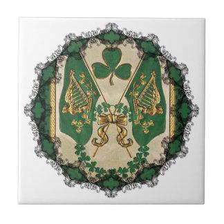 St. Patricks Day Greeting Tile