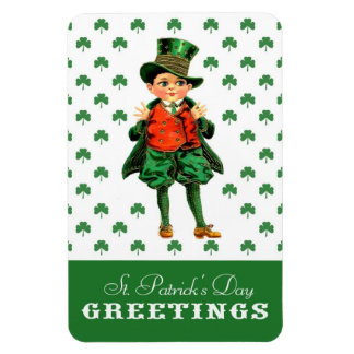 St. Patrick's Day Greetings. Gift Magnet