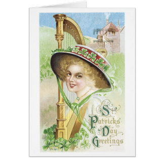 St. Patrick's Day Greetings Greeting Cards