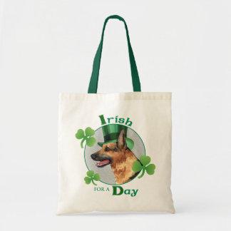 St. Patrick's Day GSD Tote Bag