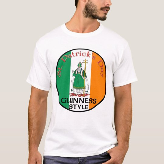 St. Patrick's Day - Guinness Style T-Shirt