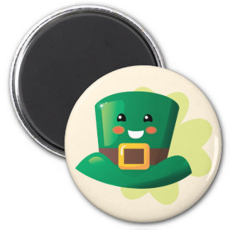St. Patrick's Day Happy Hat Magnet