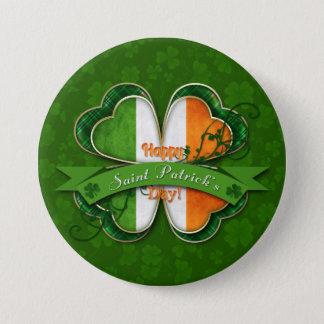 St. Patrick's Day - Happy St. Patrick's Day Button