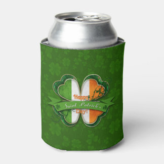 St. Patrick's Day - Happy St. Patrick's Day Can Cooler