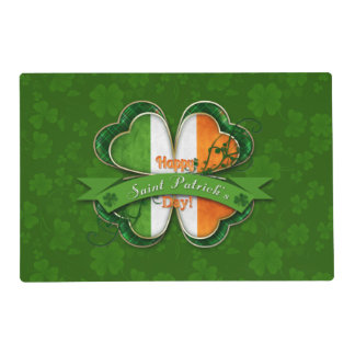 St. Patrick's Day - Happy St. Patrick's Day Placemat