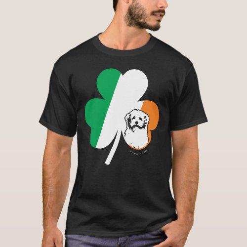 St Patricks Day Havanese Dog Shamrock Irish Funny T_Shirt