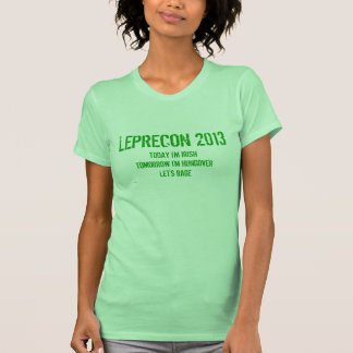 St Patrick's Day - Hoboken Leprecon Womens T Shirt