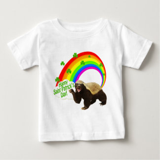 St. Patrick's Day Honey Badger Baby T-Shirt
