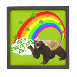 St. Patrick's Day Honey Badger Gift Box