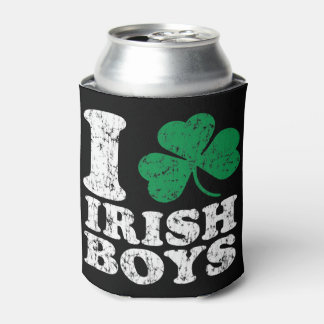 St Patrick's Day I Shamrock Irish Boys Can Cooler
