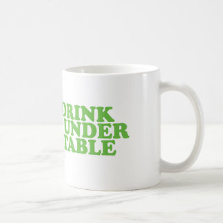 St Patrick's Day I'll Drink you under the Table Mug