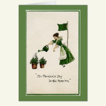 St. Patrick's Day in the Morning Note Card