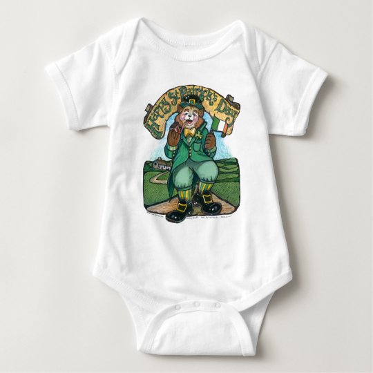 St Patrick's Day Infant Shirt