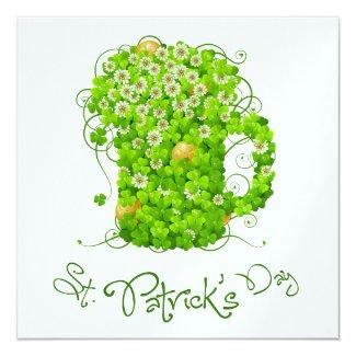 St. Patrick's Day Invitation - SRF