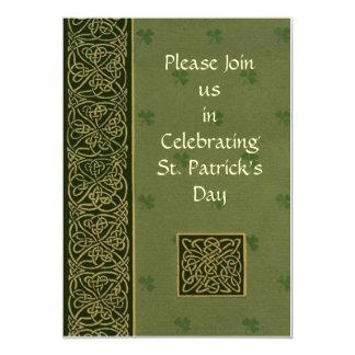 St Patricks Day Invite